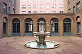 The courtyard at the Three Arts Club building - ROBERT MURPHY