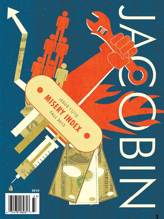 The cover of the most recent issue of Jacobin