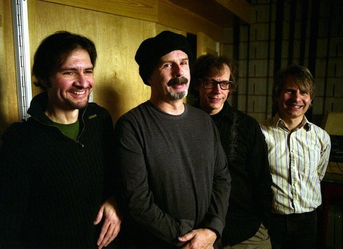 The dBs, left to right: Gene Holder, Peter Holsapple, Will Rigby, Chris Stamey
