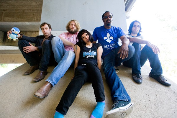 The Dirtbombs: Pat Pantano, Ben Blackwell, Ko Melina, Zachary Weedon