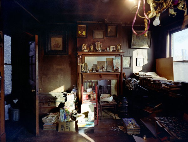 The east wall of Darger's room - MICHAEL BORUCH