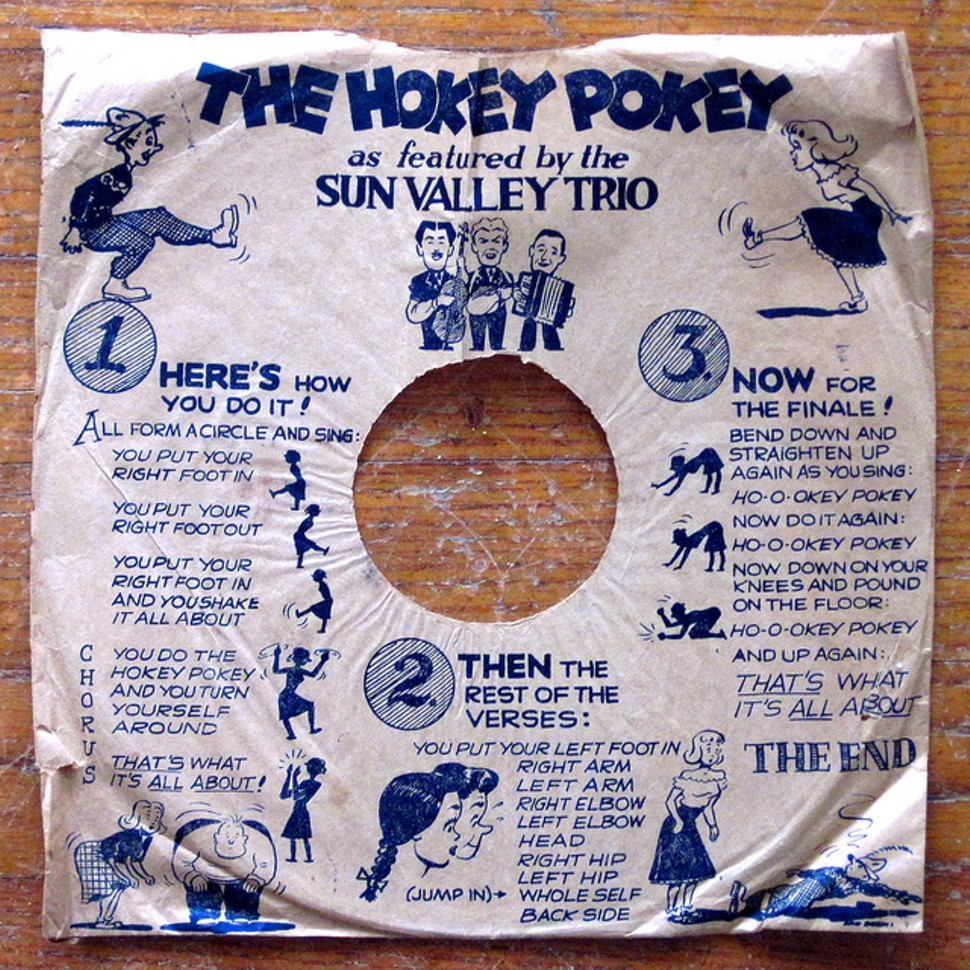 The hokey pokey, disambiguated