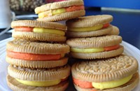 Candy Corn Oreos: I'll eat one so you don't have to