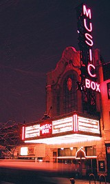 The independently owned Music Box Theatre
