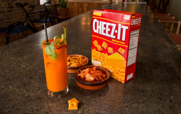The Kimcheez-It by Matty Colston - PETER HOLDERNESS