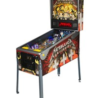 For whom the ball rolls: Stern unveils its upcoming Metallica pinball machine
