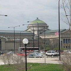 The Museum of Science and Industry, just blocks from 59th and Stony Island