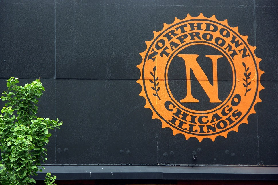 The N stands for Stop here and have a beer.