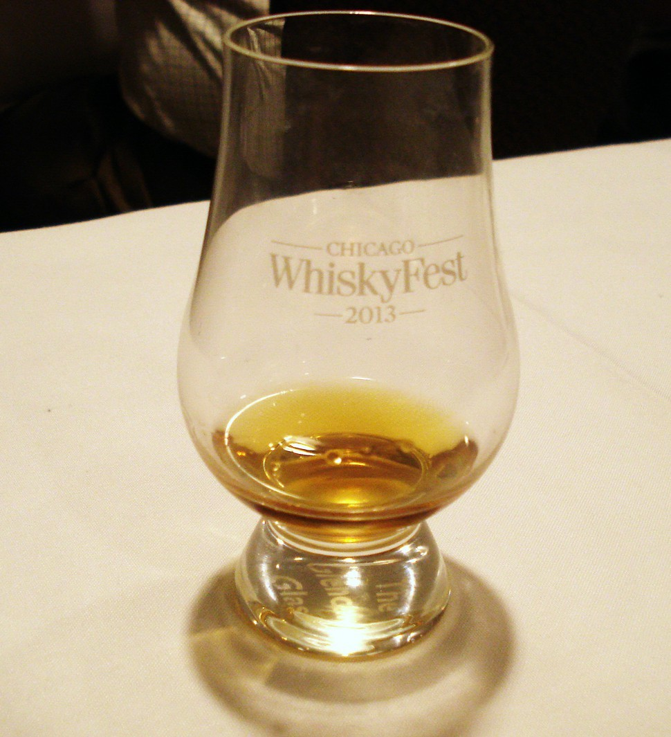 The official WhiskyFest tasting glass