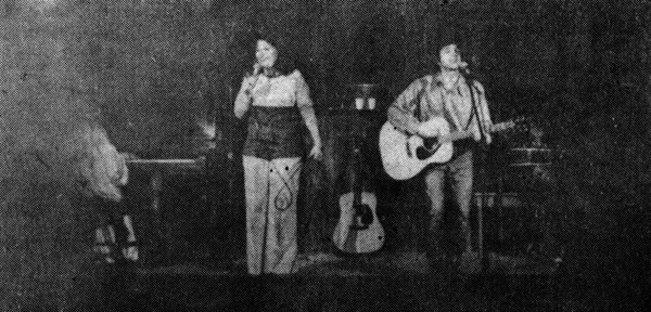 The only surviving photo of the 1970s Lavender Country lineup - COURTESY PARADISE OF BACHELORS