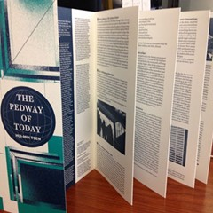The Pedway of Today explores an imaginary city