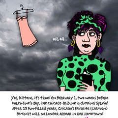 The Perils of Sylvia: More Cuts on the Tribune's Comics Page