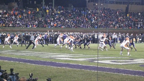The Persa-less Northwestern Wildcats get creamed by Illinois at Wrigley