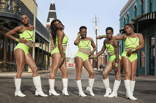 The Prancing Elites: Adrian, Tim, Jerel, Kareem, and Kentrell