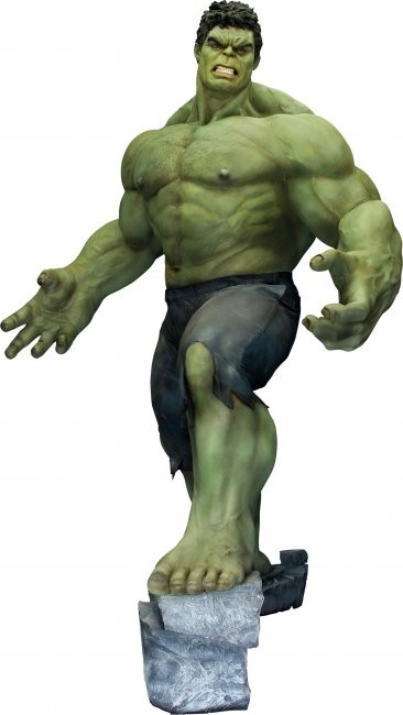 The proposed Hulk statue