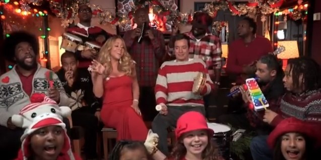 The Roots, Jimmy Fallon, Mariah Carey, and friends
