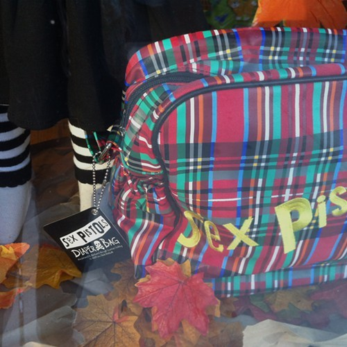 The Sex Pistols diaper bag, just in case punks coffin needed one more nail