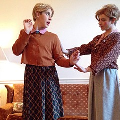 The Sister Twins serves up tea with a lump or two