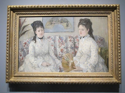 The Sisters, by Berthe Morisot, 1841