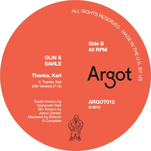 The Thanks, Karl B side
