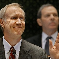 The Trib and Governor Rauner are still in their honeymoon phase.