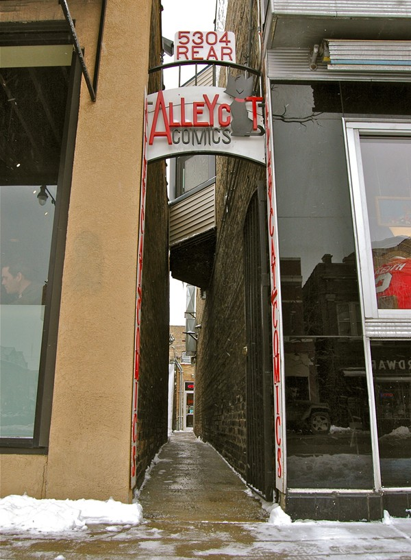 The unofficial entryway to Alleycat Comics