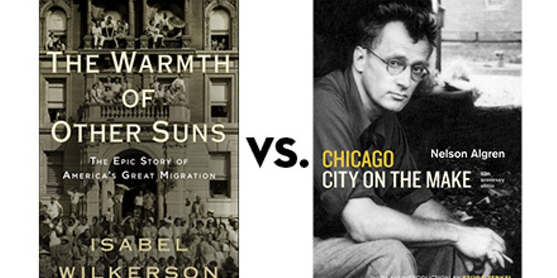 The Warmth of Other Suns vs. Chicago: City on the Make: Greatest Chicago Book tournament, final four