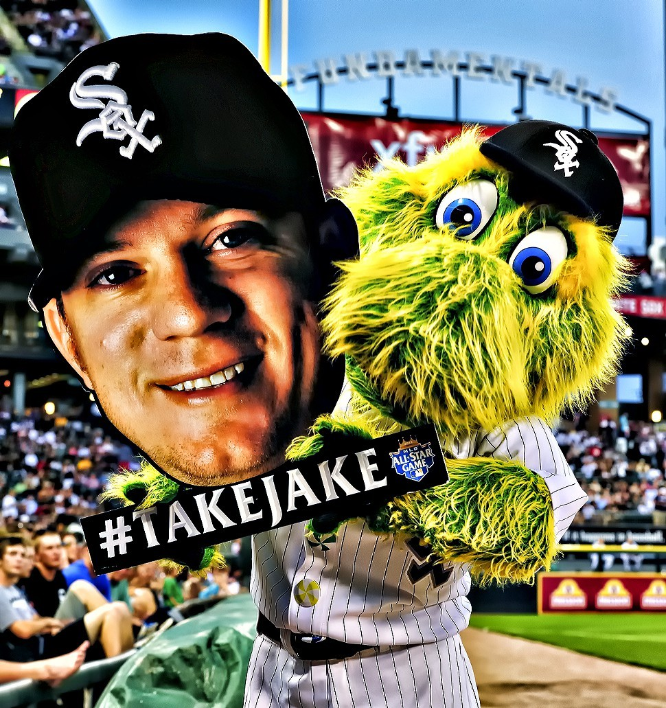 The White Sox rest their pennant hopes on Jake Peavy Wednesday.