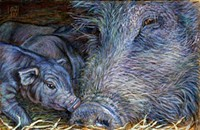 The Whole Hog Project: pig art by Susan Medaris