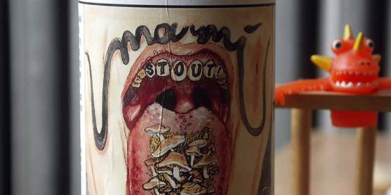 This is allegedly the last bottle of Umami Stout in Illinois. But Maria's still has six kegs of it.