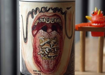 Yes, Marz Community Brewing aged a mushroom stout in soy-sauce barrels, and I drank it