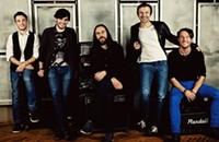 Okean Elzy, Ukraine's biggest rock band, plays the Riv on Sunday