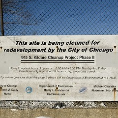 This vacant lot in North Lawndale could become the site of the Obama Presidential Library.