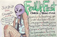 This weekend's Fed Up Fest gives a voice to queer and trans punks