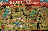 This year's stacked Riot Fest lineup includes Public Enemy, Fall Out Boy, and Motorhead