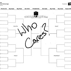 Time for the Final Four, so my bracket tells me
