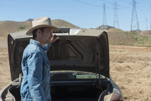 Timothy Olyphant is back as U.S. marshal Raylan Givens.