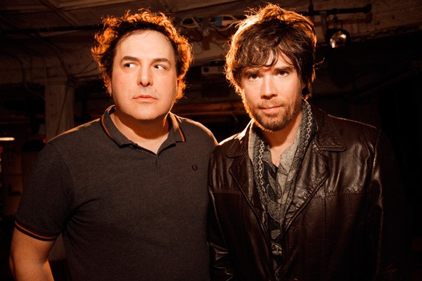 Tom Scharpling and Jon Wurster, not in cartoon form - MINDY TUCKER