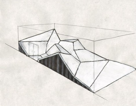 Topography: a sketch of Deborah Stratman's sound installation 'Tactical Uses of a Belief in the Unseen'