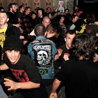 T.S.O.L., Shot Baker, Counterpunch, and Neutron Bombs at Reggie's Rock Club