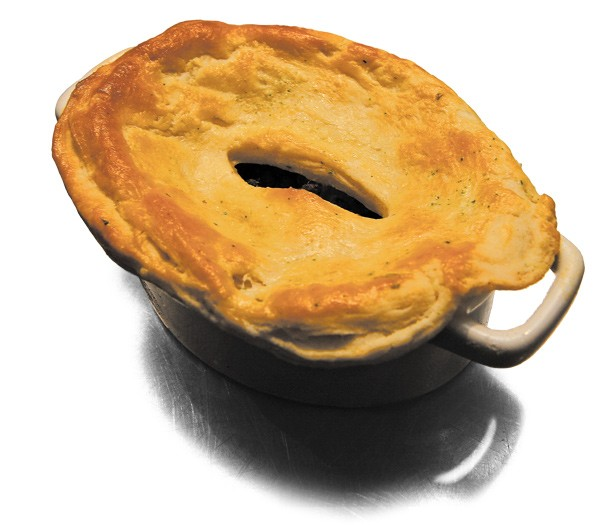 Turtle pot pie - JULIA THIEL