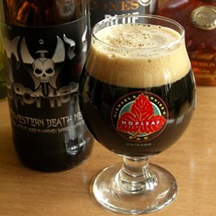 Two Brothers' Midwestern Death Metal, available only at the brewery's upcoming Cabin Fever party