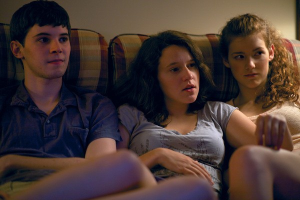 Tyler Ross, Allison Torem, and Molly Kunz in The Wise Kids