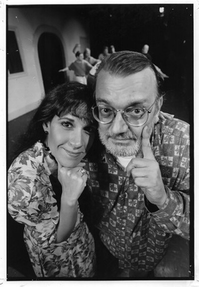 Charna Halpern and Del Close founded iO (then called ImprovOlympic) in 1981. - COURTESY IO
