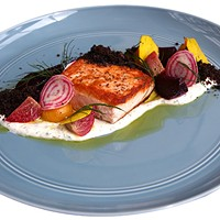 Yuzu convinces Cindy's chef Christian Ragano that salmon isn't so bad after all