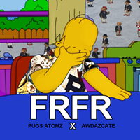 Waffle Gang leader Awdazcate and Pugs Atomz team up for the fun, funky 'FRFR'