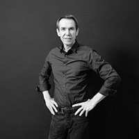 Jeff Koons—in the flesh!—at the Art Institute