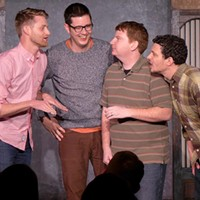 Cook County Social Club returns to iO for the improv group's tenth anniversary