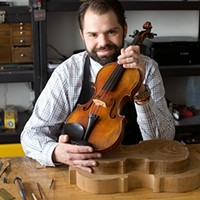 'There's no one sadder than someone who's sat on their own violin,' says a Chicago luthier