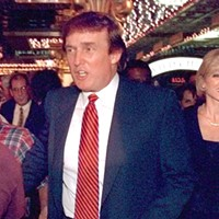 Donald Trump staged his mid-90s comeback in Gary, Indiana. What did Gary get in return?